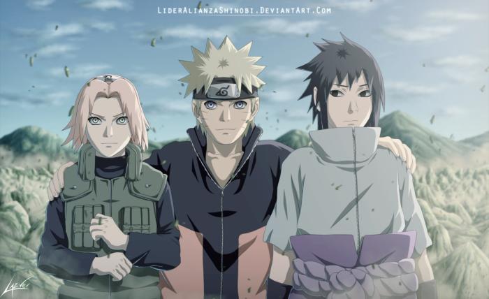Naruto Shippuden นารูโตะ ตำนานวายุสลาตัน ภาค 17 ตอนที่ 371